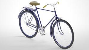 bike modeled 3D