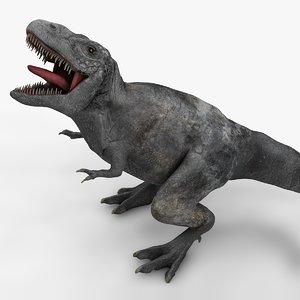 3D rex l990 animate model