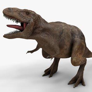 3D rex l988 animate model
