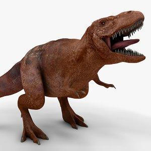 rex l991 animate 3D model