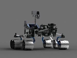 mars probe space exploration 3D