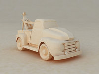 Origami  cartoon trailers  toy cars style trailers