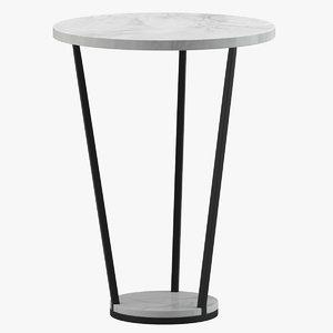 3D petra table furniture model