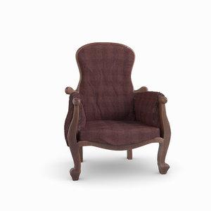 design armchair 3D