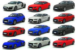 cars pack 1 3D model