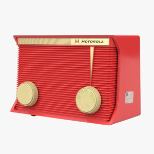 radio devices technology 3D model