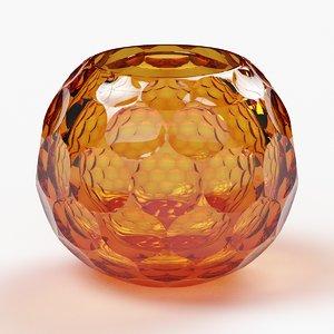 3D model bowl moser planet