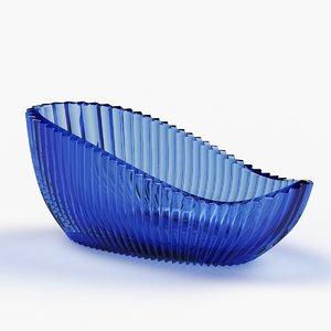 bowl moser seashell 3D model