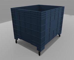 plastic wheel storage model