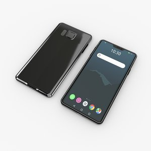 generic mobile phone 3D