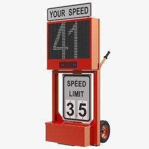 3D modular speed display dolly