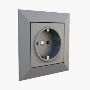 single socket 3D