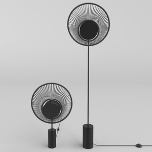 3D lamps oyster