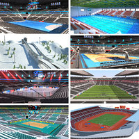Olympic Park Venues Collection
