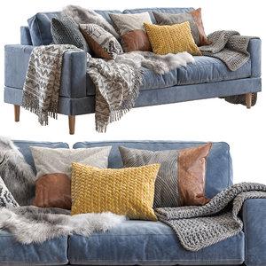 3D capri sofa