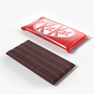 3D chocolate bar
