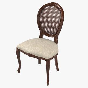 3D model seven sedie dining chair