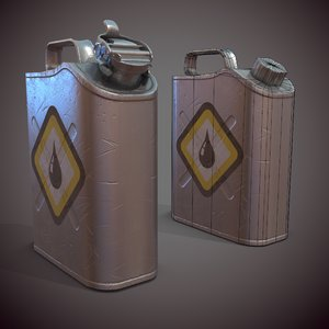 3D industrial container canister