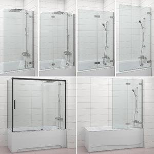 3D shutters baths radaway villeroy