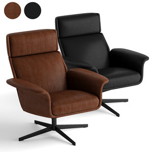 3D model v-ray armchair lounge chair