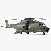 AgustaWestland AW101 Merlin Helicopter Royal Air Force