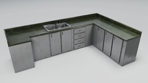 kitchen counter model