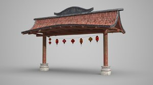 chinatown gate model