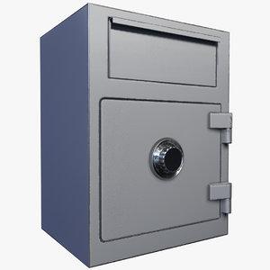 locker lock - 3D