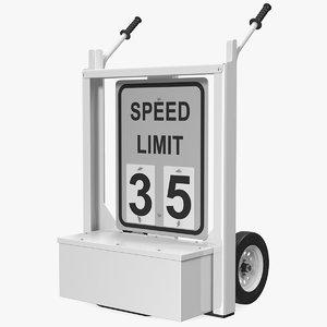decatur electronics speed display 3D