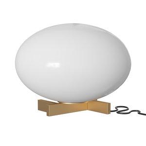 3D alba table lamp model