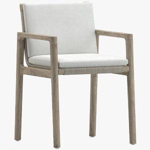 3D chair 185 furniture