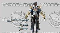 Daemon Girl - Game Ready 3D