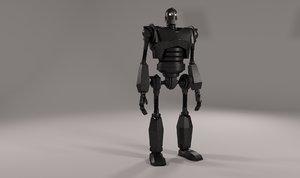 iron giant r20 3D model