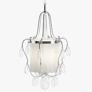 3D model chandelier 07