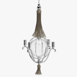 chandelier 08 3D model