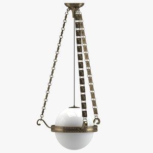 chandelier 12 3D
