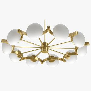 3D chandelier 14 model