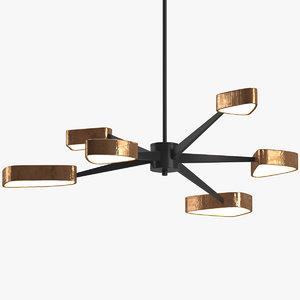 chandelier 15 3D model