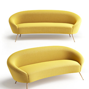 3D sofa furniture seat