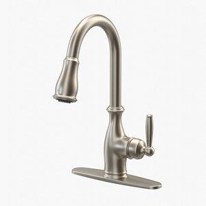 classic style kitchen faucet 3D model