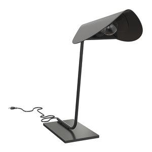 3D model plume lamps table