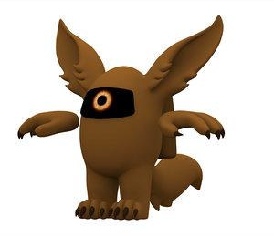 brown werewolf 3D