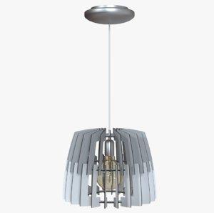 chandelier light artana 3D model