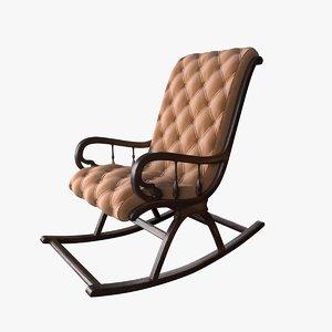 3D chair armchair seat