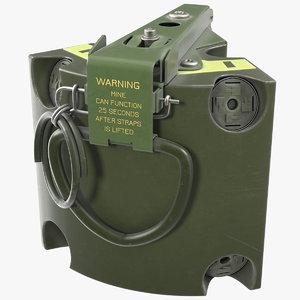 3D model m86 pursuit deterrent munition