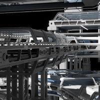 Sci Fi Structure Kit 71