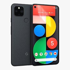 3D google pixel 5 just