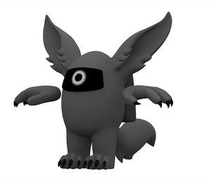 grey werewolf 3D