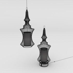 lamp tibet light 3D model