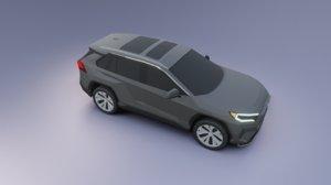 3D toyota rav 4 2021
